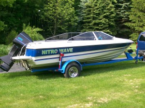 Nitro Wave Runabout Boat Graphics