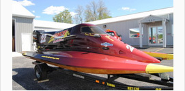Race Boat Wraps