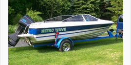 Runabout Boats Graphics Wraps