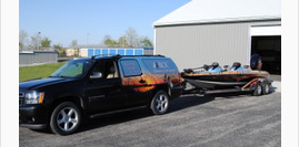 Tow Vehicle Graphics Wraps